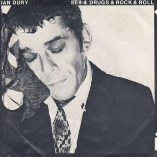 "vinyl 7""SP IAN DURY - Sex and Drugs and Rock and Roll"