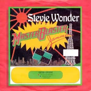 "vinyl 7""SP STEVIE WONDER Master Blaster"