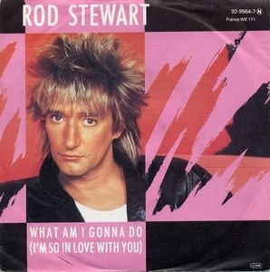 "vinyl 7""SP ROD STEWART What Am I Gonna Do (I'm So In Love With You)"