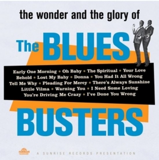 vinyl LP BLUES BUSTERS Wonder and Glory