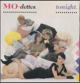 "vinyl 7""SP MO-DETTES Tonight"