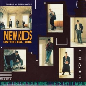 "vinyl 7""SP NEW KIDS ON THE BLOCK Let's Try It Again"
