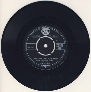 "vinyl 7""SP JIM REEVES - You're The Only Good Thing (That Happened To Me)"