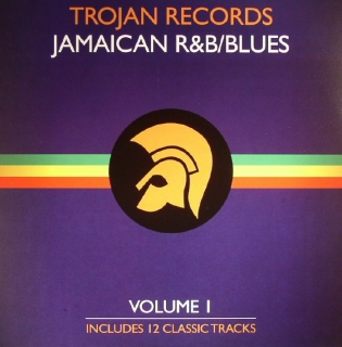 vinyl LP TROJAN RECORDS Jamaican R&B/Blues Volume I
