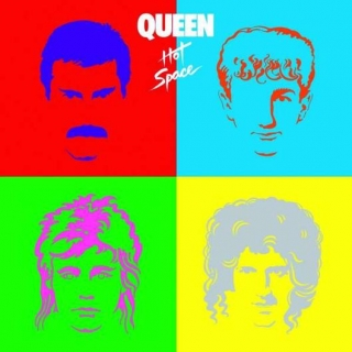 vinyl LP QUEEN Hot Space (2015)