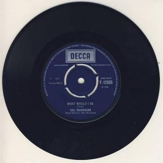 "vinyl 7""SP VAL DOONICAN - What Would I Be"