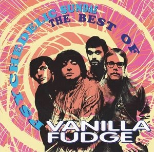 vinyl 2LP VANILLA FUDGE Psychadelic Sundae (the best of)
