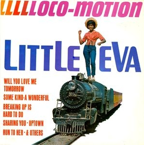 vinyl LP LITTLE EVA Llllloco-motion
