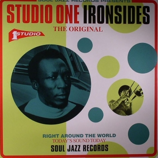 vinyl 2LP VARIOUS ARTISTS - STUDIO ONE IRONSIDES