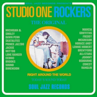 vinyl 2LP VARIOUS ARTISTS - STUDIO ONE ROCKERS