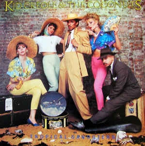 vinyl LP KID CREOLE & THE COCONUTS Tropical Gangsters
