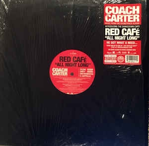 "vinyl 12"" maxi SP RED CAFÉ All Night Long"