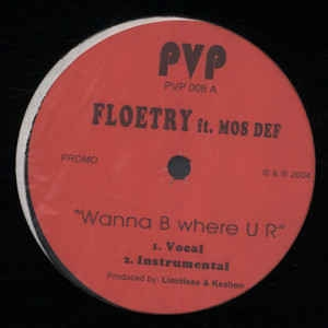 "vinyl 12""maxi SP FLOETRY Wanna B Where U R"