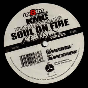 "vinyl 12""maxi SP KMC Soul On Fire"