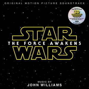 vinyl 2LP Star Wars The Force Awakens (soundtrack John Williams)