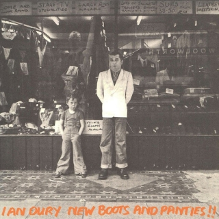 vinyl LP IAN DURY New Boots and Panties!!