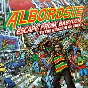 vinyl LP ALBOROSIE Escape From Babylon To The Kingdom Of Zion
