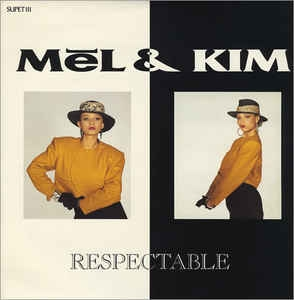 "vinyl 12"" maxi SP MEL & KIM Respectable"