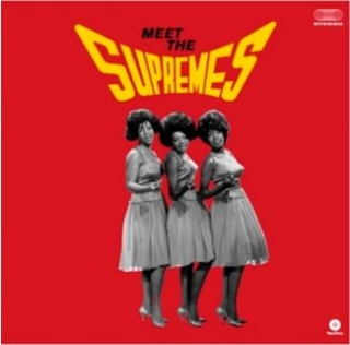 vinyl LP THE SUPREMES Meet The Supremes