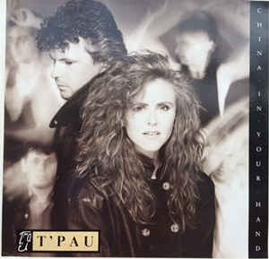 "vinyl 12"" maxi SP T´PAU China In Your Hand"