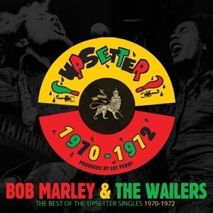 "vinyl 7x7""SP  BOB MARLEY Best Of The Upsetters Singles 1970 - 1972"