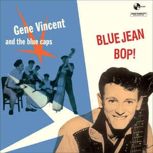 vinyl LP GENE VINCENT & THE BLUE CAPS Blue Jean Bop!