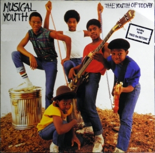 vinyl LP MUSICAL YOUTH The Youth Of Today