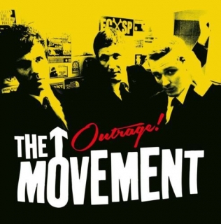 "vinyl 7""SP THE MOVEMENT Outrage!"
