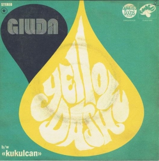 "vinyl 7""SP GIUDA Yellow Dash"
