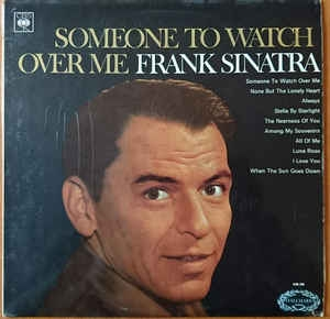 vinyl LP FRANK SINATRA Someone To Watch Over Me