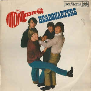 vinyl LP THE MONKEES Headquarters