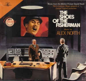 vinyl LP ALEX NORTH The Shoes Of The Fisherman  (soundtrack)