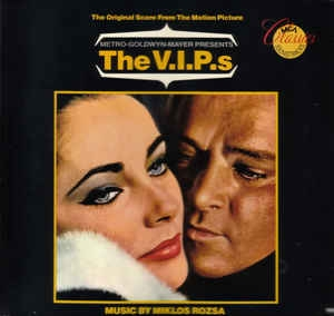 vinyl LP MIKLÓS RÓZSA The V.I.P.s (soundtrack)