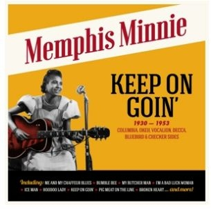 vinyl LP MEMPHIS MINNIE Keep On Goin´