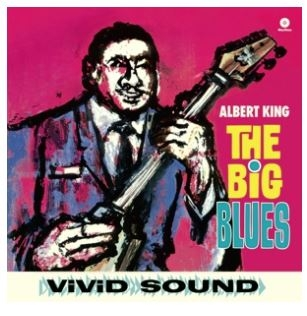 vinyl LP KING ALBERT Big Blues