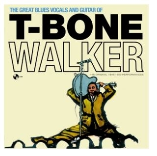 vinyl LP WALKER T-BONE Great Blues Vocals and Guitar
