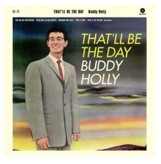 vinyl LP BUDDY HOLLY That'll Be the Day