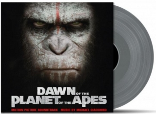 vinyl 2LP DAWN OF THE PLANET OF THE APES (soundtrack)