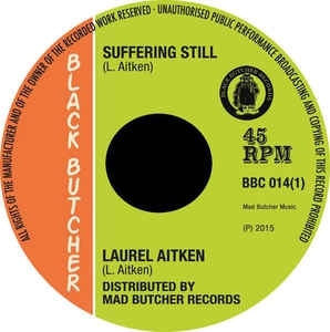 "vinyl 7"" SP LAUREL AITKEN Suffering Still/Reggae 69"