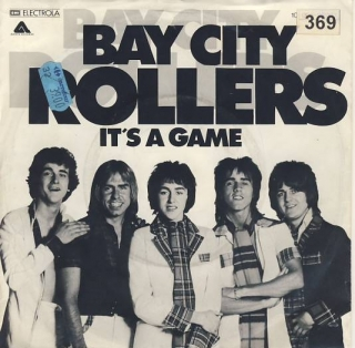 "vinyl 7""SP BAY CITY ROLLERS - It´s A Game"