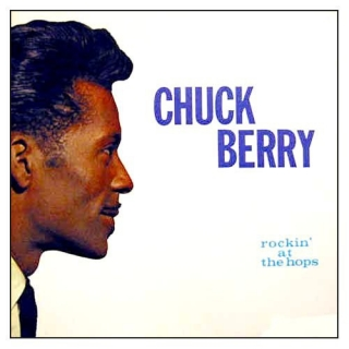 vinyl LP CHUCK BERRY Rockin' At the Hops