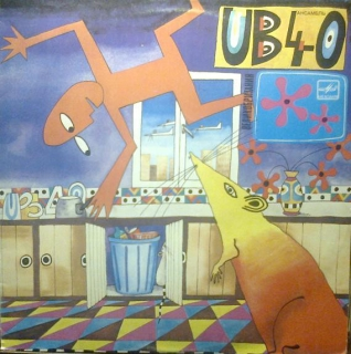 vinyl LP UB40 Rat In The Kitchen ( Krysa na kuchne )