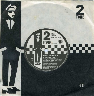 "vinyl 7""SP RODDY and THE SPECIALS Braggin´and Tryin´Not To Lie"