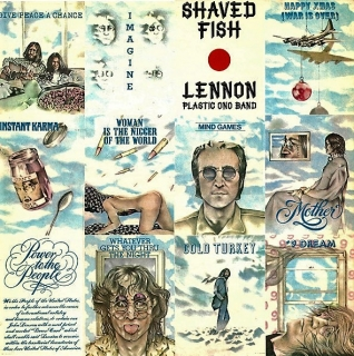 vinyl LP JOHN LENNON Shaved Fish
