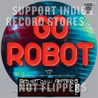 "vinyl 12""SP RED HOT CHILI PEPPERS Go Robot (live)"