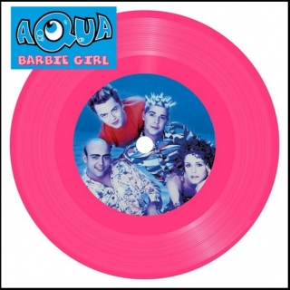 "vinyl 7""SP AQUA Barbie Girl"