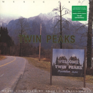 vinyl LP MUSIC FROM TWIN PEAKS by Angelo Badalamenti