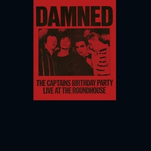 vinyl LP DAMNED Captains Birthday Party
