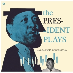 vinyl LP LESTER YOUNG President Plays With the Oscar Peterson Trio