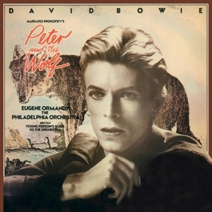 vinyl LP DAVID BOWIE Peter & the Wolf
